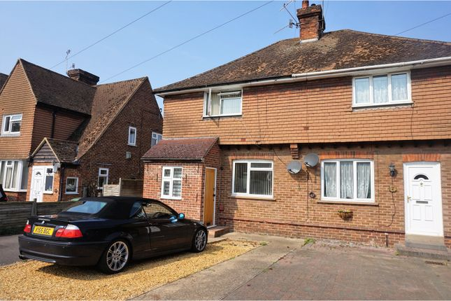 Thumbnail Semi-detached house for sale in Medway Avenue, Maidstone