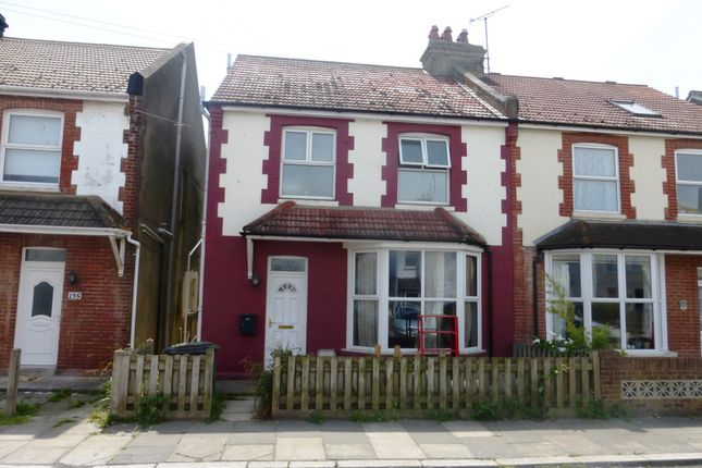 Thumbnail Semi-detached house for sale in Bulverhythe Road, St. Leonards-On-Sea