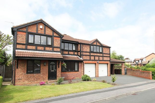 Thumbnail Detached house for sale in Crown Point Road, Ossett, West Yorkshire