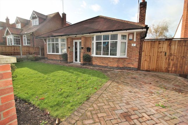 Thumbnail Detached bungalow for sale in Thomas Avenue, Radcliffe-On-Trent, Nottingham