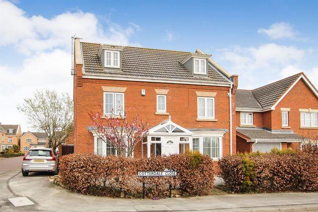 Thumbnail Detached house for sale in Cotterdale Close, Bridlington