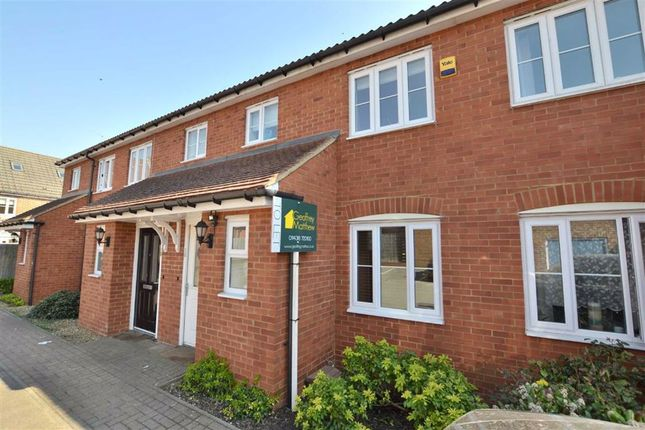 Thumbnail Terraced house to rent in Hunt Hill Close, Great Ashby, Stevenage, Herts