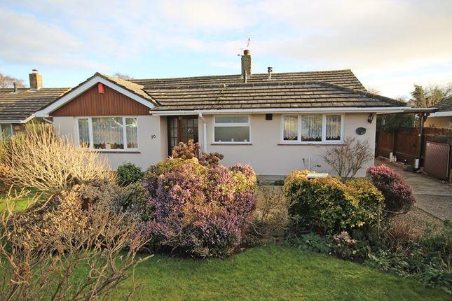 Thumbnail Detached bungalow for sale in Pegasus Avenue, Hordle, Lymington