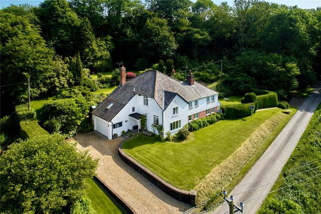 Thumbnail Detached house for sale in Quebec, West Harting, Petersfield, Hampshire