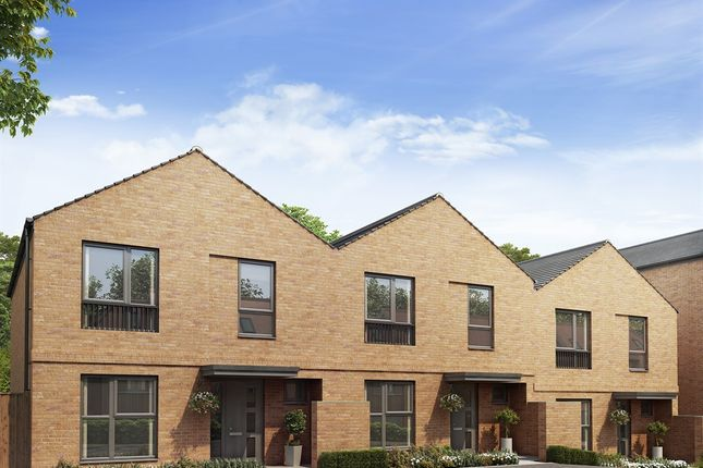 "Thumbnail Semi-detached house for sale in ""The Newbury  "" at Harrow View, Harrow"