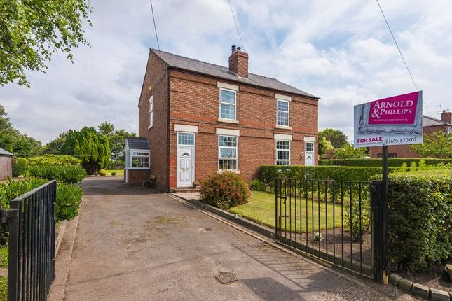 Thumbnail Semi-detached house for sale in Narrow Lane, Halsall, Ormskirk