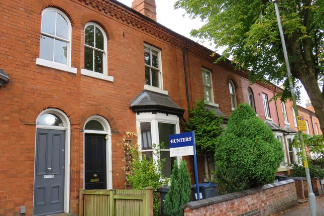 Thumbnail Terraced house to rent in Albany Road, Harborne, Birmingham
