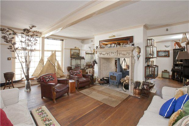 Reception Room of Stanswood Road, Nr Lepe, Hampshire SO45