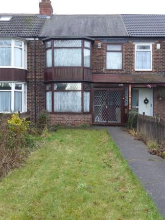 Thumbnail Terraced house to rent in Cottingham Road, Hull