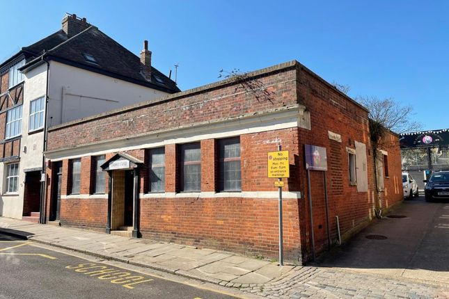 Thumbnail Commercial property for sale in Dance Easy Studio, 19 The Bayle, Folkestone, Kent