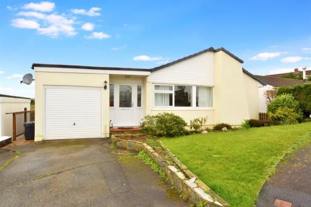 Thumbnail Detached bungalow for sale in Sunnybanks, Hatt, Saltash, Cornwall