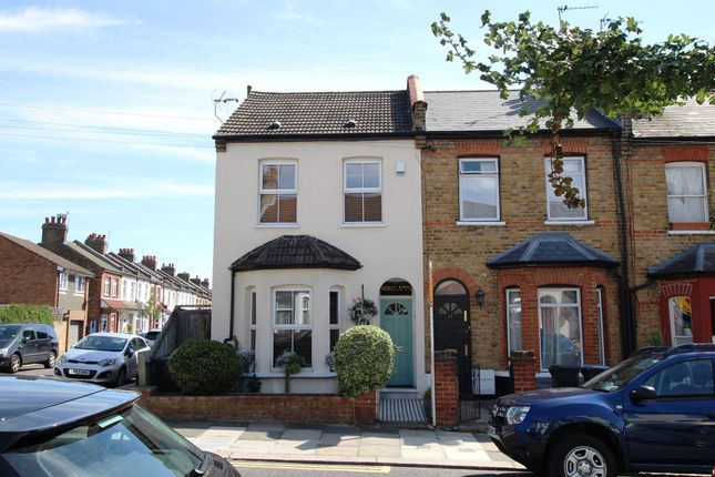 Thumbnail End terrace house for sale in Woodlands Road, Enfield