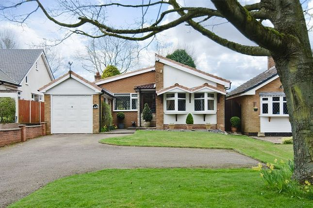 Thumbnail Detached bungalow for sale in Burntwood Road, Hammerwich, Burntwood