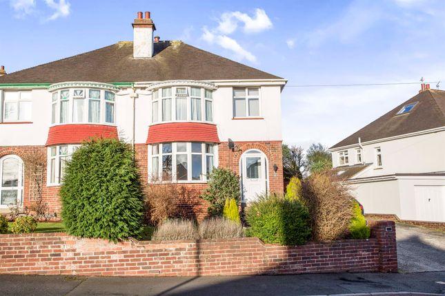 Thumbnail Semi-detached house for sale in Lloyd Avenue, Torquay