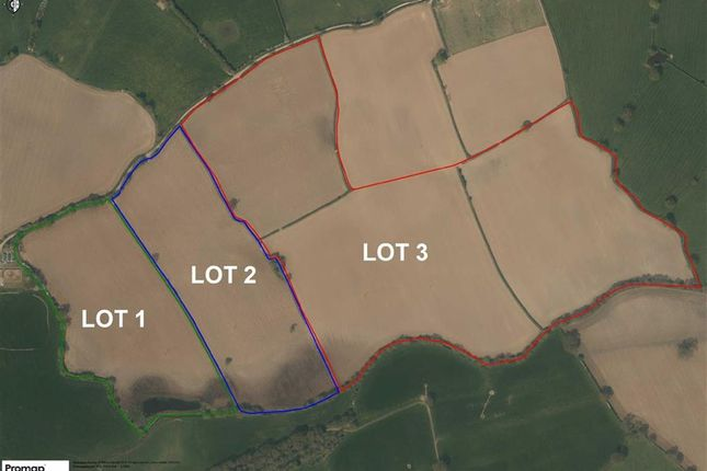 Thumbnail Land for sale in Elson, Ellesmere