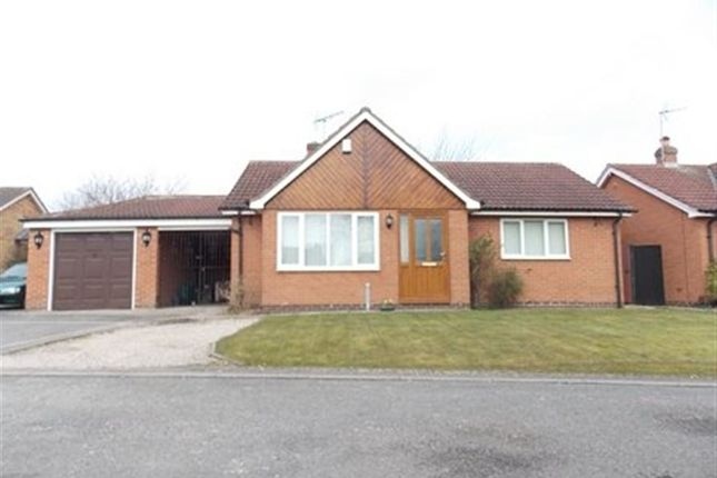 Thumbnail Bungalow to rent in Larch Drive, Sandiacre, Nottingham