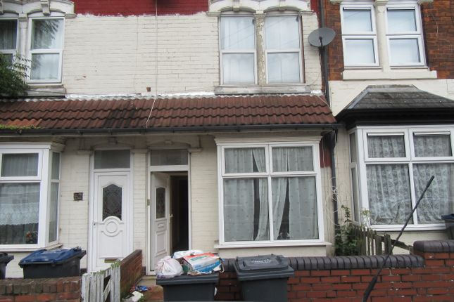 Thumbnail Terraced house to rent in Kentish Road, Handsworth, Birmingham