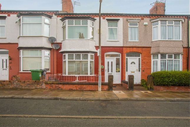 Thumbnail 3 bed terraced house for sale in Parkstone Road, Birkenhead, Merseyside