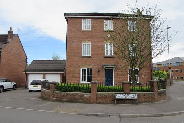 Thumbnail Detached house to rent in St Mary Close, Pencoed, Bridgend