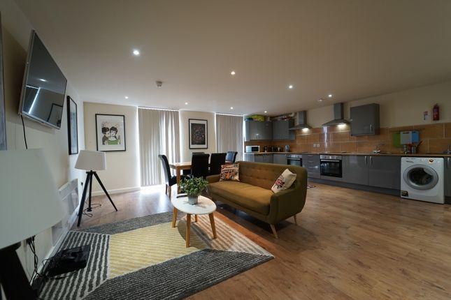 Thumbnail Flat to rent in Huntington Street, City Centre, Nottingham