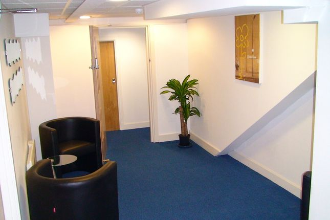 Reception Area of York Hub, Peter Lane, York City Centre. YO1