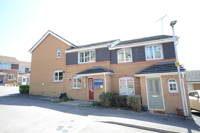 Thumbnail End terrace house to rent in Hollerith Rise, Bracknell