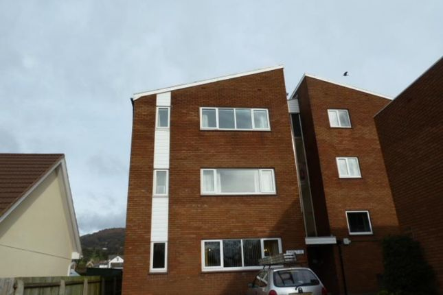 Thumbnail Flat to rent in 12 Belle View Flats, Knoll Road, Abergavenny