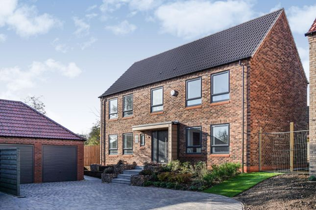 Thumbnail Detached house for sale in Hawfinch Meadows, Retford