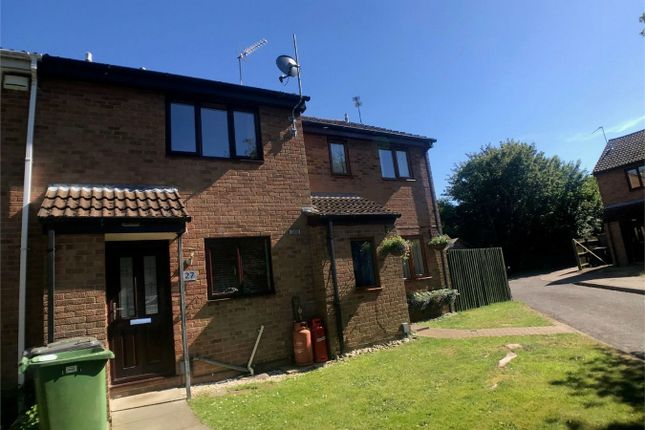 Thumbnail Terraced house to rent in Somerville, Peterborough, Cambridgeshire