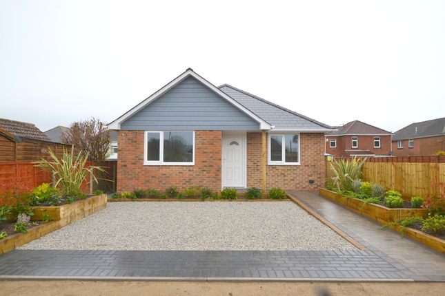Thumbnail Detached bungalow for sale in Bennion Road, Bournemouth