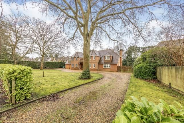 Thumbnail Detached house for sale in Camberley, Surrey, United Kingdom