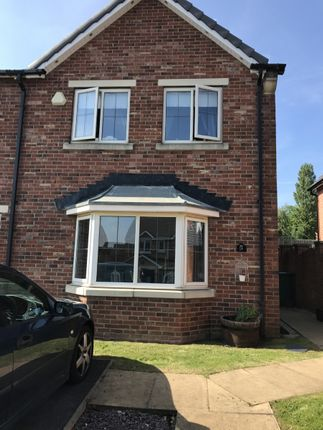 Thumbnail Semi-detached house to rent in Marguerite Gardens, Upton, Pontefract