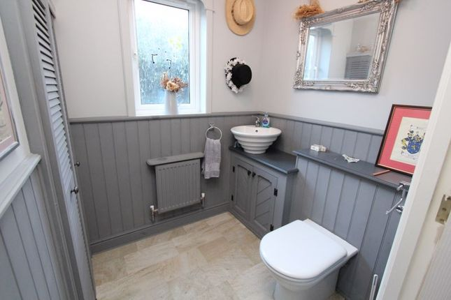 Cloakroom/WC of Maes Y Gwenyn, Rhoose, Barry CF62