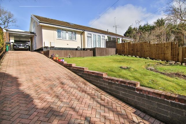 Thumbnail Semi-detached bungalow for sale in Woodland Park, Penderyn, Aberdare