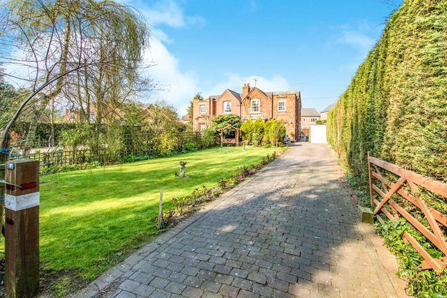 Thumbnail Semi-detached house for sale in Willoughby Road, Greylees, Sleaford