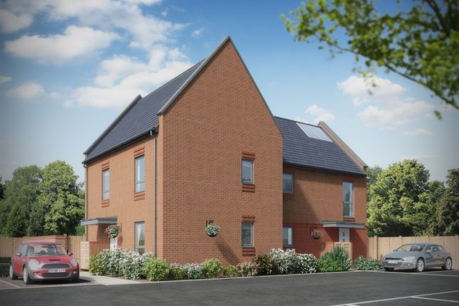 """Thumbnail Semi-detached house for sale in """"Plot 1 And 2"""" at Hulse Road, Shirley, Southampton"""