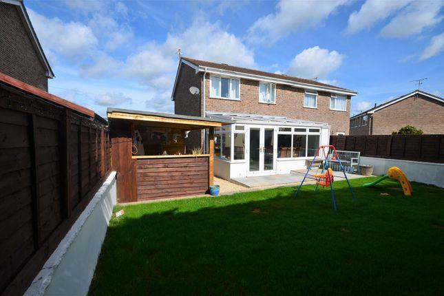 Thumbnail Semi-detached house for sale in Meadow Close, Stalbridge, Sturminster Newton