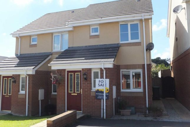 Thumbnail Semi-detached house to rent in Woodland View, Holsworthy