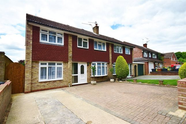 Thumbnail Semi-detached house for sale in Woodlands, Bishop's Stortford