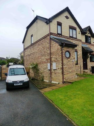 Thumbnail Semi-detached house to rent in Millbrook Gardens, Dewsbury, West Yorkshire