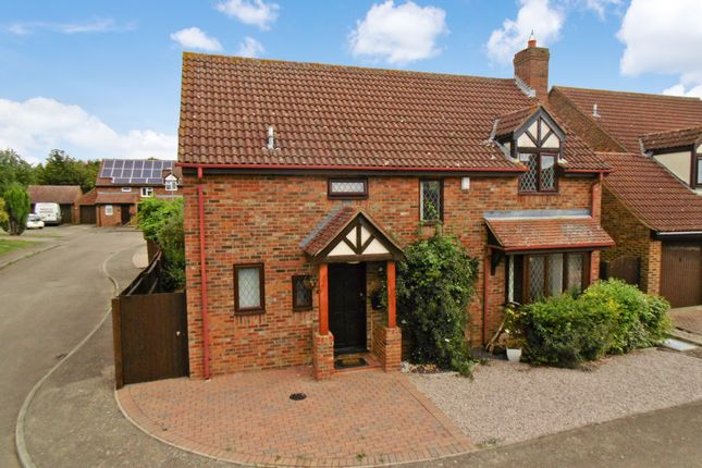 Thumbnail Detached house for sale in Hunters Way, Kimbolton