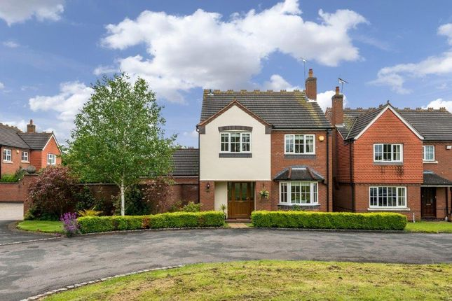 Thumbnail Detached house for sale in Church Close, Dunston, Stafford