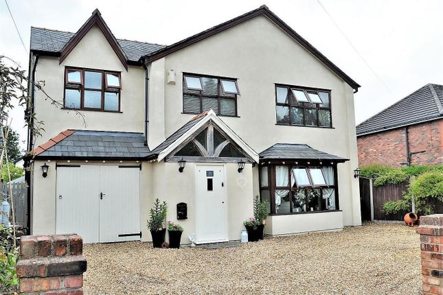 Thumbnail Detached house for sale in Mill Lane, Houghton Green, Warrington