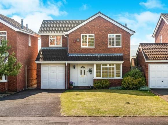 Thumbnail Detached house for sale in Farndale Close, Brierley Hill, West Midlands