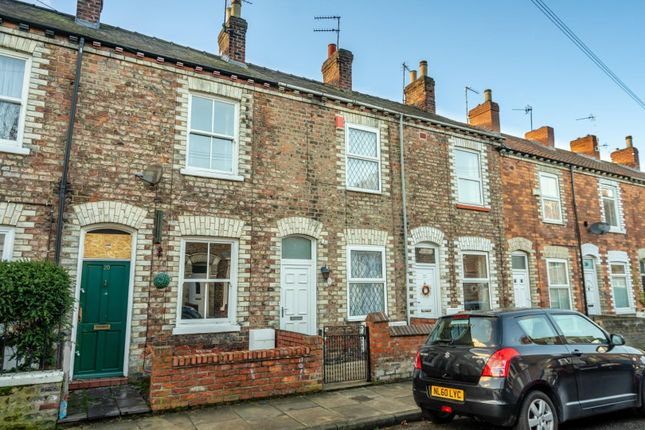 2 bed terraced house for sale in Milton Street, York YO10