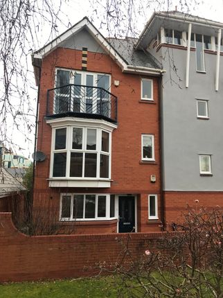 Thumbnail Town house to rent in St. Lawrence Quay, Salford