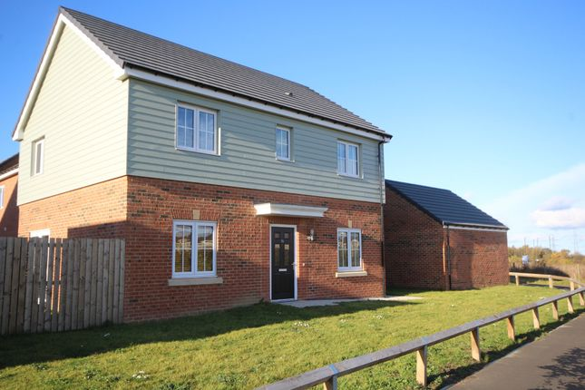 Thumbnail Detached house for sale in Parkside View, Backworth, Newcastle Upon Tyne