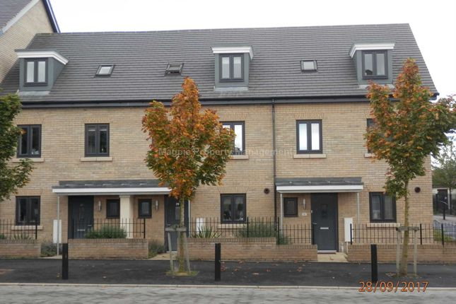 Thumbnail Town house to rent in Great High Ground, St. Neots