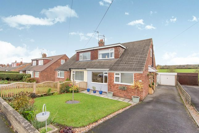 Thumbnail Semi-detached bungalow for sale in Coppice Wood Crescent, Yeadon, Leeds