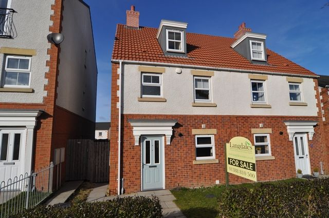 Thumbnail Semi-detached house to rent in Everson Way, Spennymoor